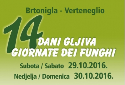 "Od 29. do 30.10. u Brtonigli: ""14. Dani gljiva"""